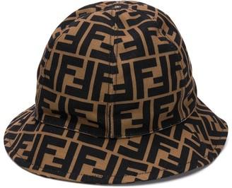 Fendi FF logo bucket hat