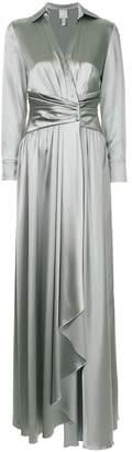 Huishan Zhang ruched design dress