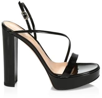 Gianvito Rossi Platform High Heel Slingback Sandals