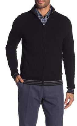 Calvin Klein Cotton-Cashmere Blend Full Zip Cardigan