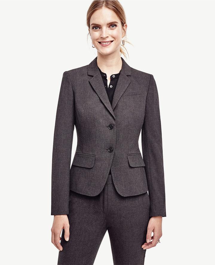 Ann TaylorAll-Season Stretch Two Button Jacket