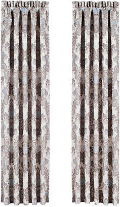 "J Queen New York Jordyn Olivia 84"" x 100"" Pair of Window Panels"