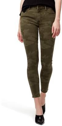 Sanctuary Social Standard Camo High Waist Ankle Skinny Pants