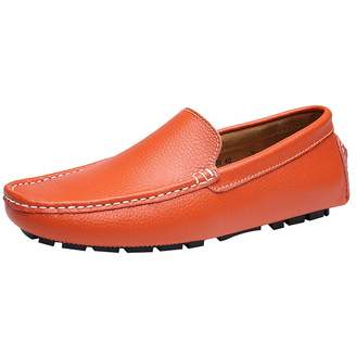 c325592db3e13 at Amazon Canada · rismart Men s Soft Split Grain Leather Driving Loafer  Shoes Comfortable Moccasins Slippers Boat Shoes SN9100