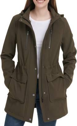DKNY Softshell Hooded Anorak