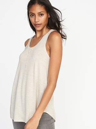 Old Navy Sparkle-Knit Luxe Swing Tank for Women