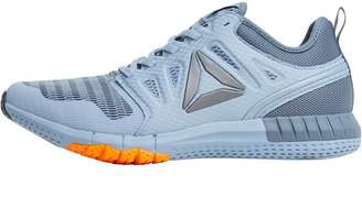 fe538536f4e Reebok Womens ZPrint 3D Neutral Running Shoes Gable Grey Asteroid Dust Fire  Spark