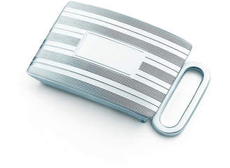 Tiffany & Co. Engine-turned slide belt buckle