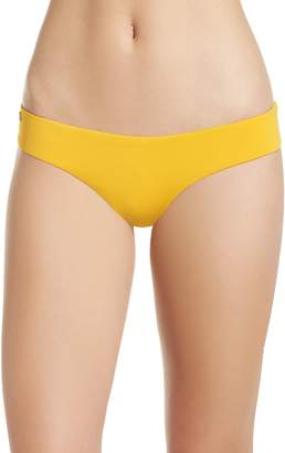 Maaji Mellow Yellow Sublime Leaf Reversible Bikini Bottoms