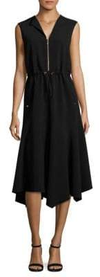 Lafayette 148 New York Santana Drawcord Waist Dress
