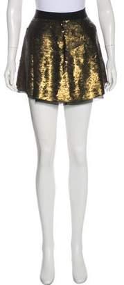Proenza Schouler Mini Sequin Skirt