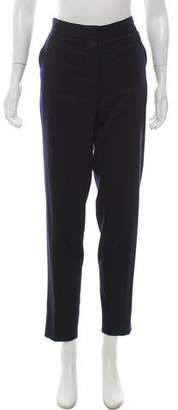 Stella McCartney High- Rise Straight- Leg Pants