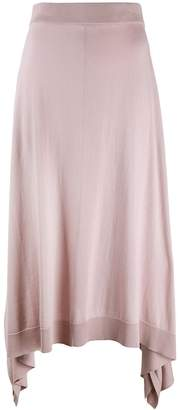 Pringle long handkerchief skirt