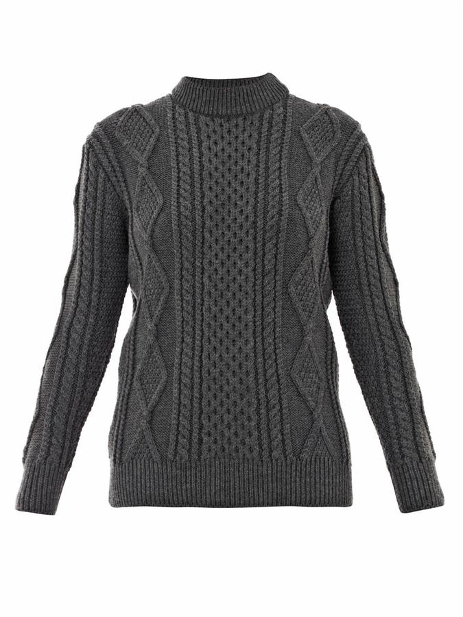 Marc Jacobs Aran cable-knit sweater