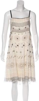 Derek Lam Silk Crepe Dress