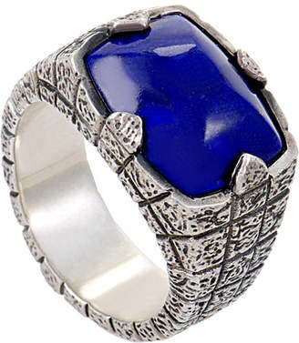 Stephen Webster Silver Lapis Lazuli Ring