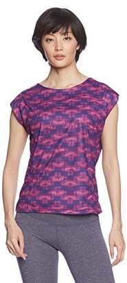 G-fit (ジーフィット) - (ジーフィット)G-FIT フィトネス デザインTシャツ GAC516TS [レディース] GAC516TS PIP ピンクパープル M