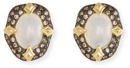 Armenta Old World Stone Stud Earrings, White AquapraseTM
