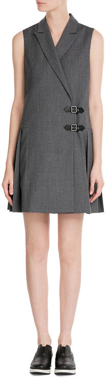 Marc By Marc JacobsMarc by Marc Jacobs Pleated Wool Mini Dress