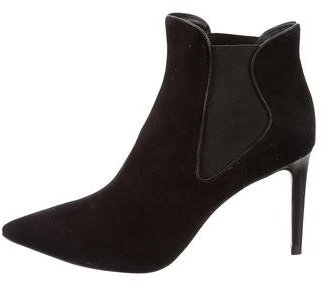 Tory Burch Tory Burch Suede Dorset Booties
