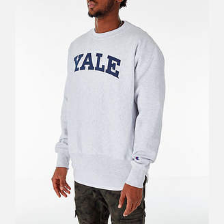 Champion Men's Yale Bulldogs College Reverse Weave Crewneck Sweatshirt