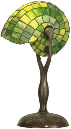 Dale Tiffany Tiffany Green Snail Table Lamp
