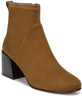 Via Spiga Leather Block-Heel Ankle Booties - VDiana