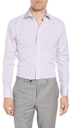 Eton Slim Fit Diamond Dress Shirt