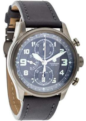 Victorinox Swiss Army Infantry Watch $925 thestylecure.com