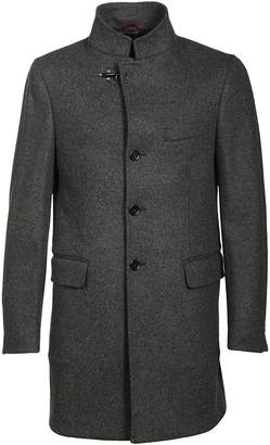 Fay High Collar Single Breasted Coat