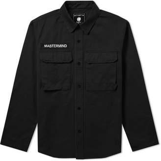 Mastermind World MASTERMIND WORLD Embroidered Skull Military Shirt Jacket