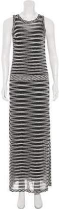 Missoni Metallic Striped Dress