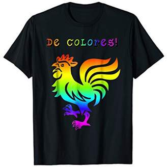 Cursillo Shirt De Colores Shirt Rainbow Rooster