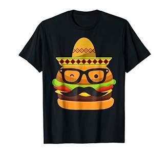 Mexiacan Taco Burger Tshirt for men / women / kids