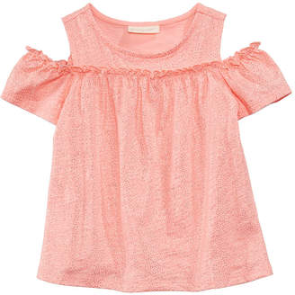 First Impressions Printed Cotton Cold-Shoulder Top, Baby Girls, Created for Macy's