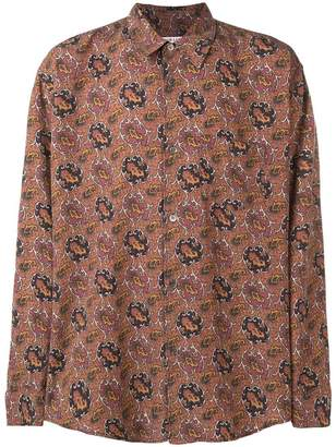 Our Legacy patterned oversized shirt