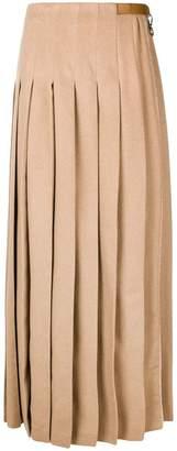 Max Mara flared maxi skirt