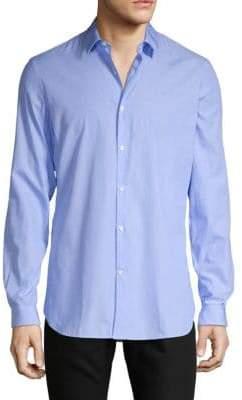 The Kooples Solid Poplin Button-Down Shirt