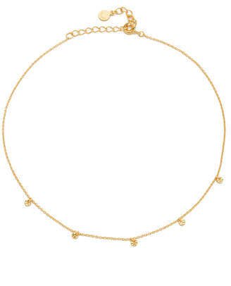 Gorjana 5 Disc Choker Necklace $55 thestylecure.com