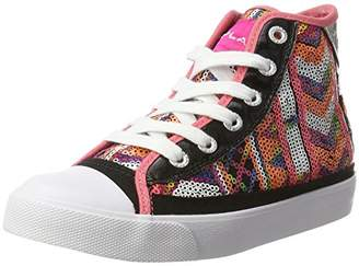 Replay Girls' Scone Hi-Top Slippers Multi-Coloured Size: 11 Child UK