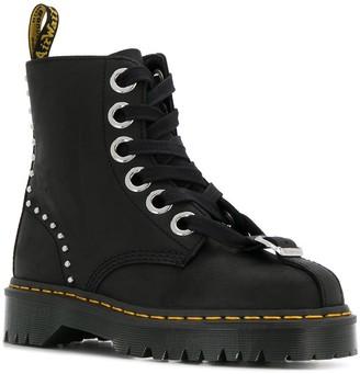 Dr. Martens lace-up combat boots