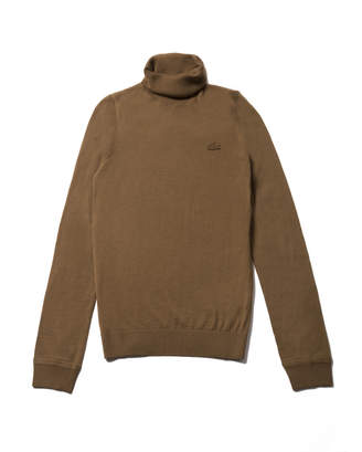 Lacoste (ラコステ) - ヘリンボーンタートルネックセーター
