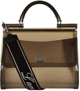 Dolce & Gabbana Semi-Transparent Rubber Sicily Bag