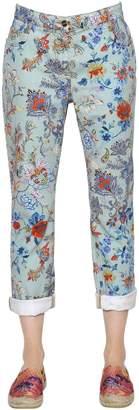 Etro Floral Printed Boyfriend Denim Jeans