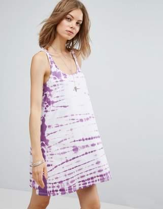 ASOS Swing Sundress in Tie Dye $32 thestylecure.com