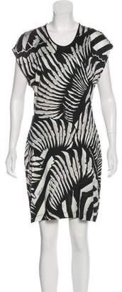 Just Cavalli Jersey Mini Dress