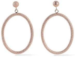 Carolina Bucci Gypsy Large 18-Karat Rose Gold Hoop Earrings