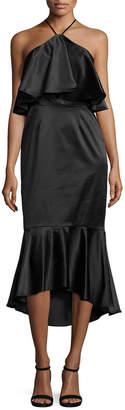 Paper Crown Ruby Halter Dress