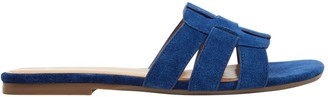 Marc Fisher Cutout Suede Sandals