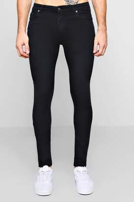 boohoo Black Skinny Fit Jeans